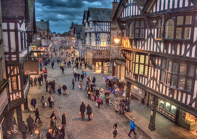 Boxingday Shopping in Chester