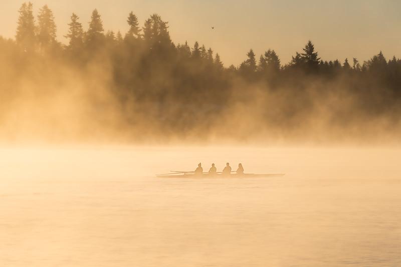 Riders on the fog II