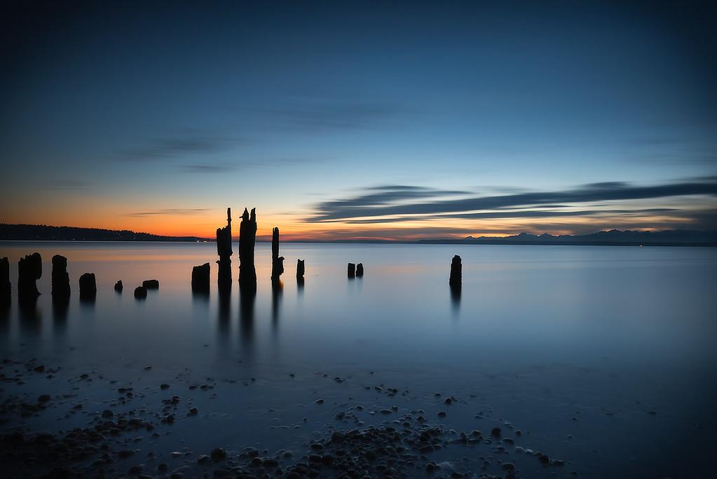 Picnic Point Sunset
