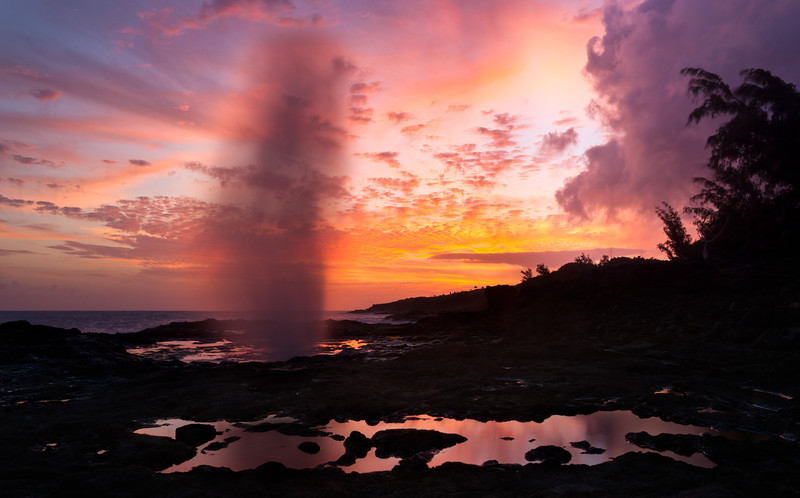 Spouting Horn Sunset