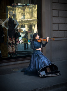 Beautiful Busker