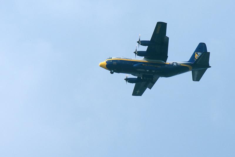 """U.S. Marine Corps C-130T """"Fat Albert"""" ~ Thunder Over Michigan ~ August 2015"""