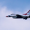 USAF Thunderbird No. 5 ~ Thunder over Michigan Air Show ~ Willow Run Airport, Michigan
