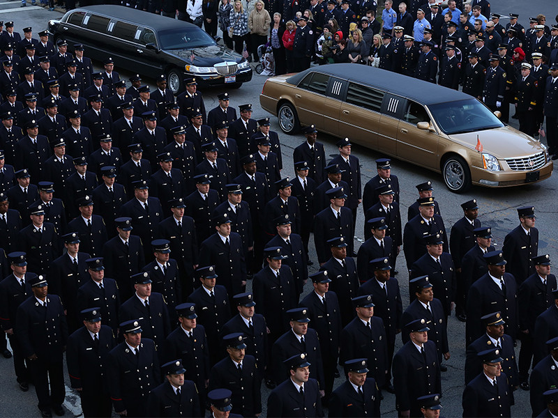 Funeral for Fallen Firefighter FAO Daryl Gordon
