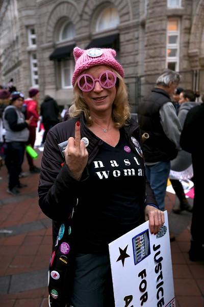 Women's March in Washington D.C.