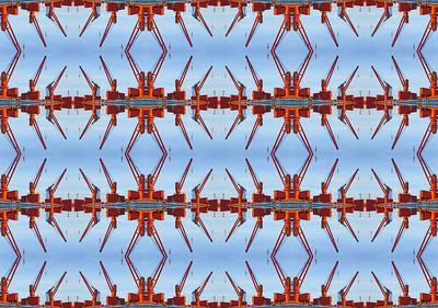 Red Cranes 1