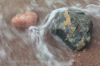 Lake Superior Rocks and Waves (2016)