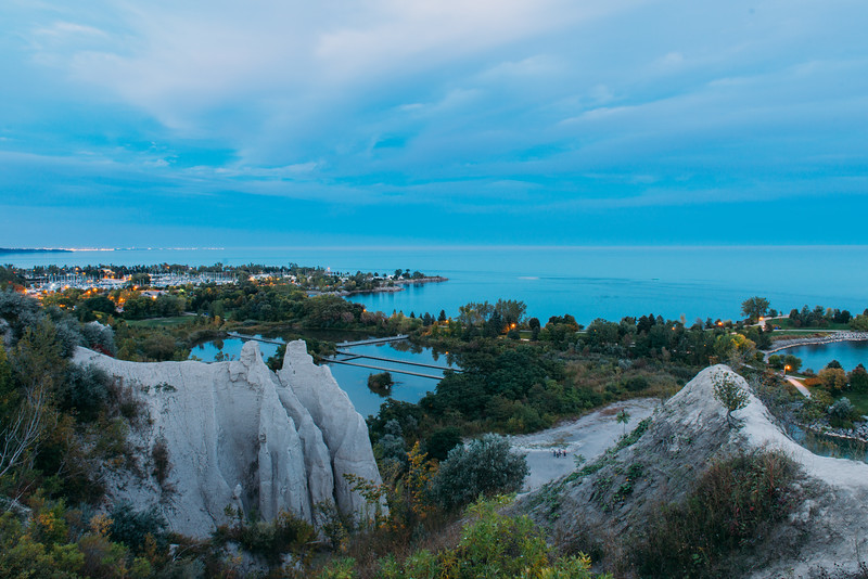 The Scarborough Bluffs