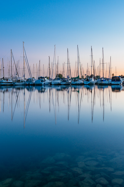 A Marina Reflection