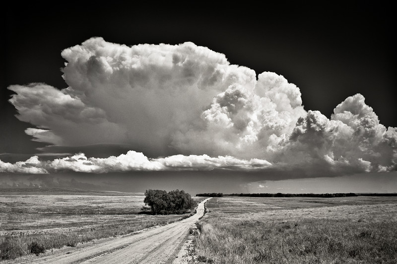 """Clouds"" Rosebud Indian Reservation, South Dakota"