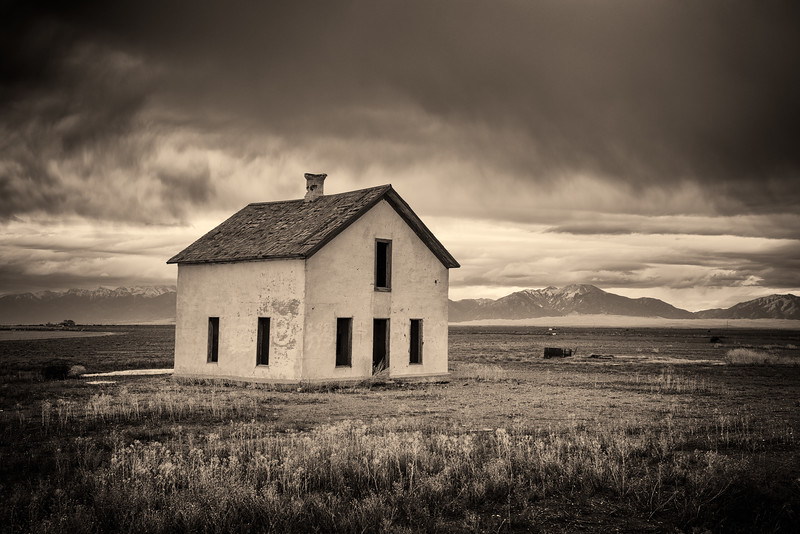 """Abandoned House"" Great Sand Dunes, Colorado"