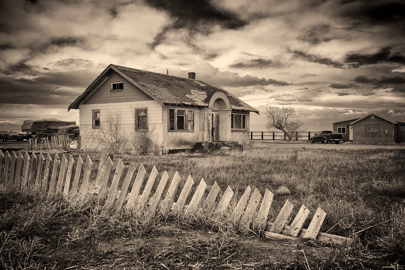 """Old Abandoned House"" Great Sand Dunes, Colorado"
