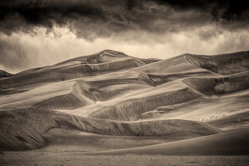 """Sand Dunes"" Great Sand Dunes NP, Colorado"
