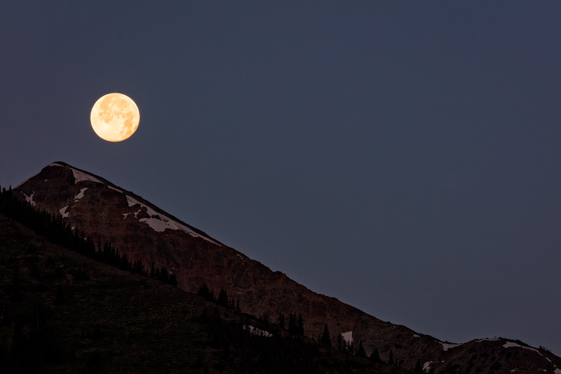 """Moonrise"" Crested Butte, Colorado"