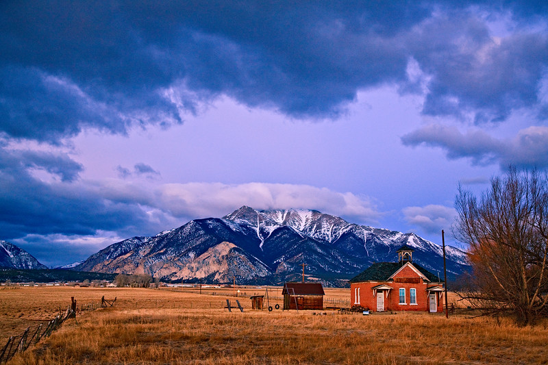 """Old School House"" Buena Vista, Colorado"