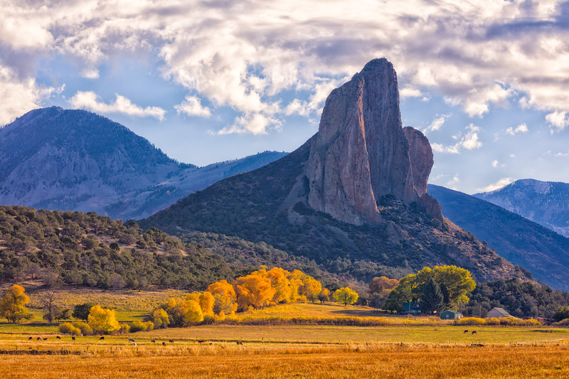 """Needle Rock"" Crawford, Colorado"
