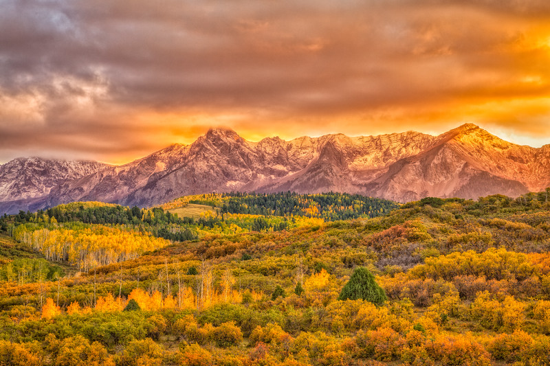 """San Juan Mountains in Fall"" Ridgeway, Colorado"