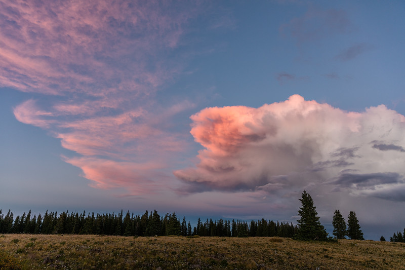"""Clouds"" Alpine Plateau, Colorado"