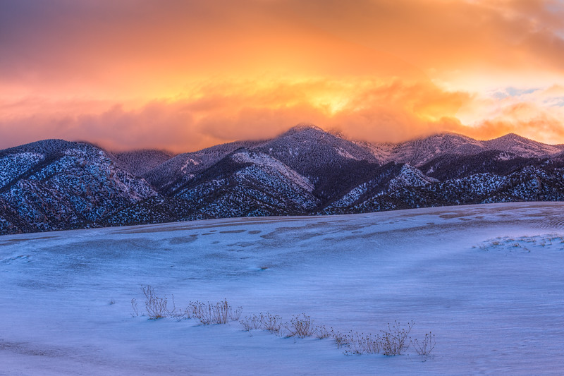 """Dune Sunset"" Great Sand Dunes NP, Colorado"