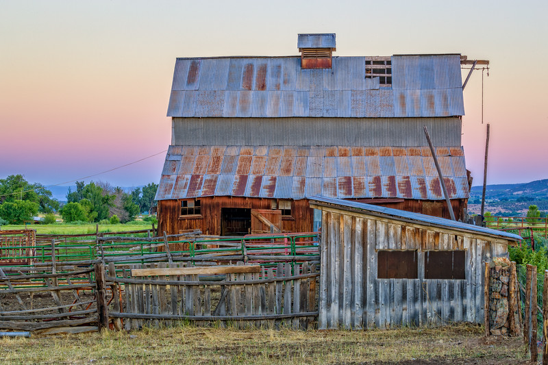 """Old Barn"" Hotchkiss, Colorado"