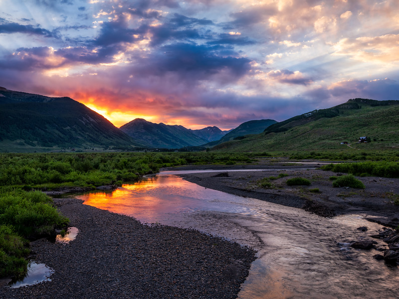 """Slate river"" Crested Butte, Colorado"