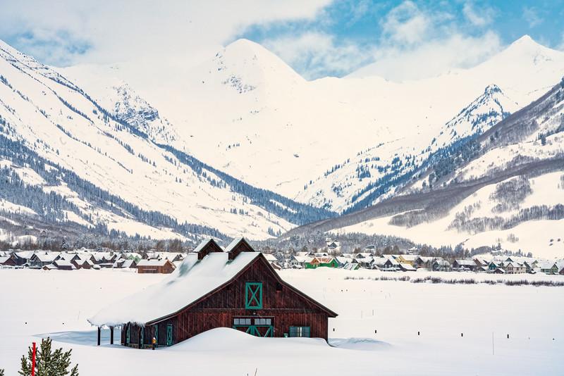 """Deep Snow"", Crested Butte, Colorado"