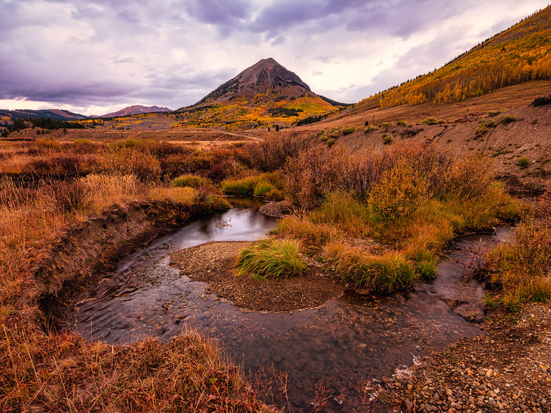 """Gothic"", Washington Gulch, Crested Butte, Colorado"