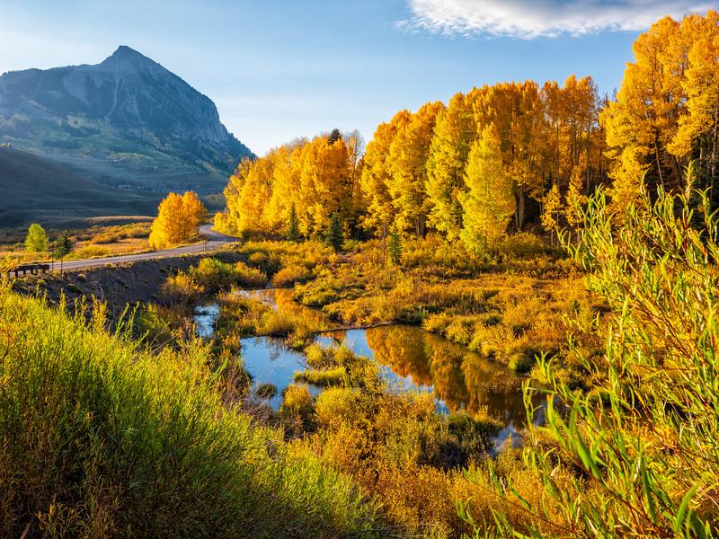 """Mt. Crested Butte "" Colorado"