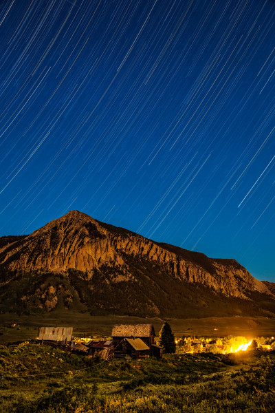 """Crested Butte Star Trace"" Crested Butte, Colorado"