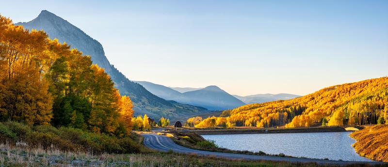 """""""Morning Glow"""" Meridian Lake, Colorado"""