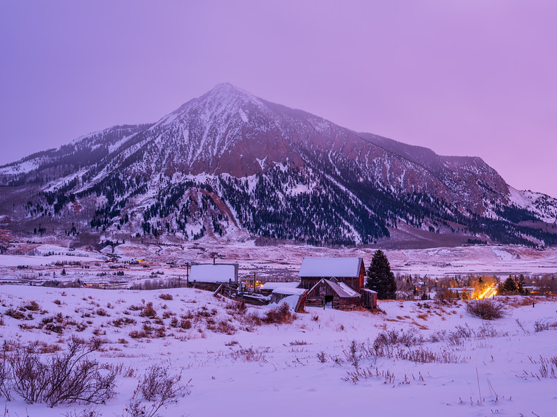 """Sleepy Hollow and lights"", Crested Butte, Colorado"