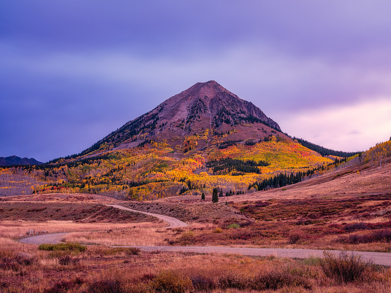 """Crooked Trails"", Gothic, Crested Butte, Colorado"
