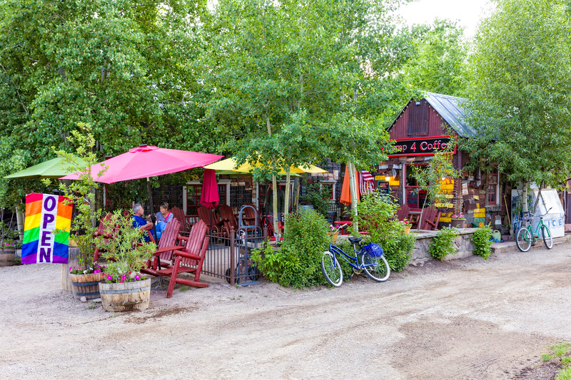 """Camp 4 Coffee"" Crested Butte, Colorado"
