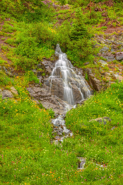 """Waterfall at Irwin"" Crested Butte, Colorado"