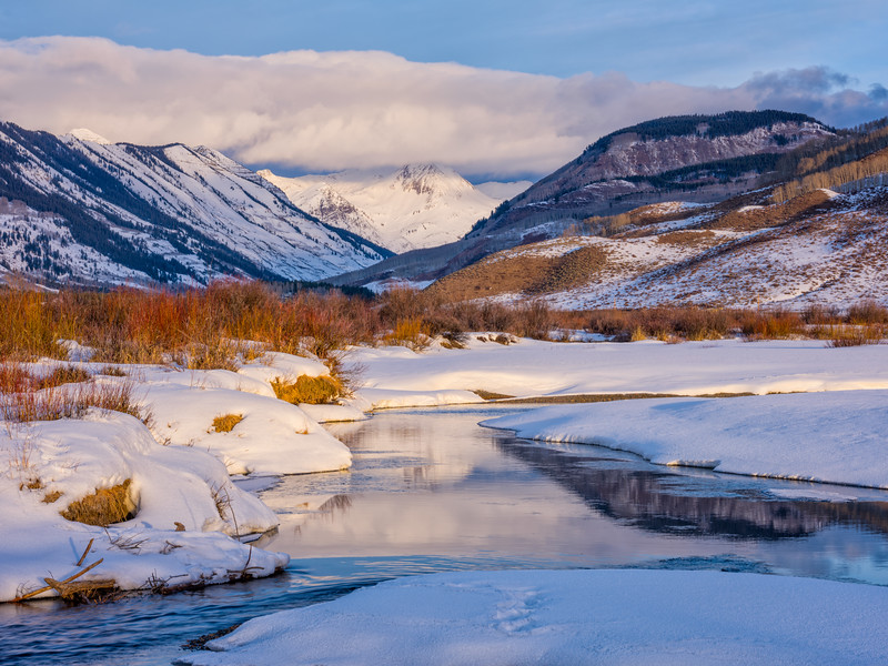 """""""Paradise Divide & the Slate River"""" Crested Butte, Colorado"""