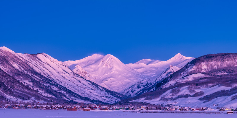 """Sleepy Hollow"", Crested Butte, Colorado"