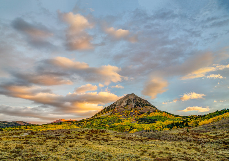 """Mountain Fall Colors"" Crested Butte, Colorado"