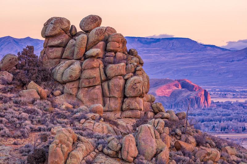 """""""Hartman's Rocks & the Palisades"""" Gunnison, Colorado"""