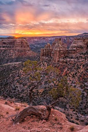 """Colorado National Monument Sunrise"""