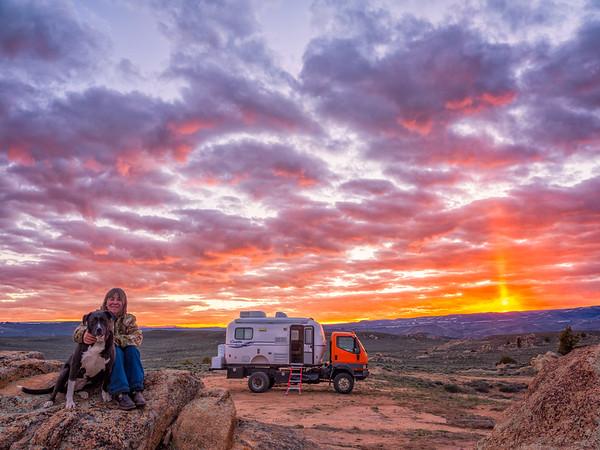 """Family Photo Adventure"" Hartman Rocks Gunnison, Colorado"