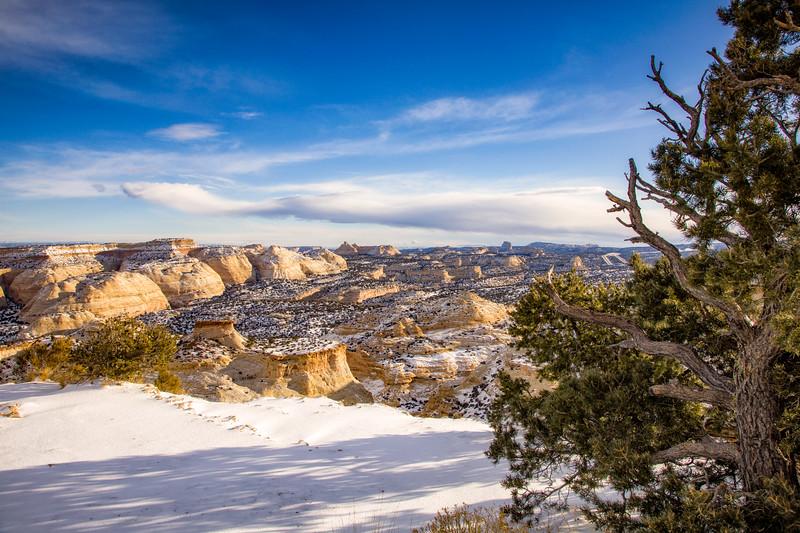 """View from I-70"" Emery County, Utah"