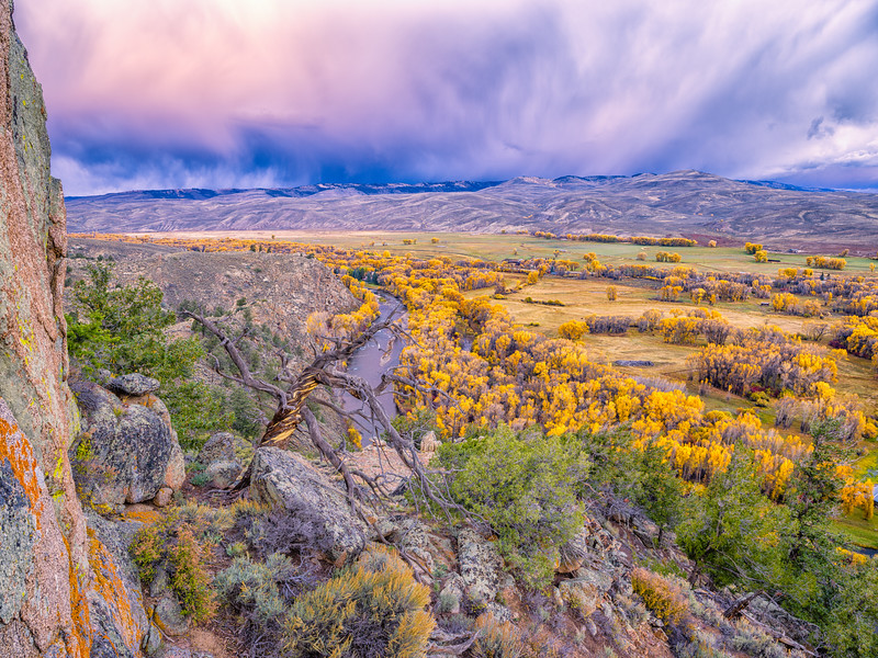 """Approaching Storm"" Gunnison, Colorado"