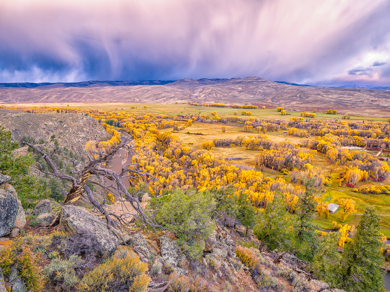 """Approaching Storm1"" Gunnison Valley, Colorado"