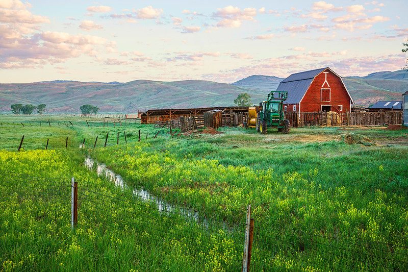 """Spann Ranch"" Gunnison, Colorado"