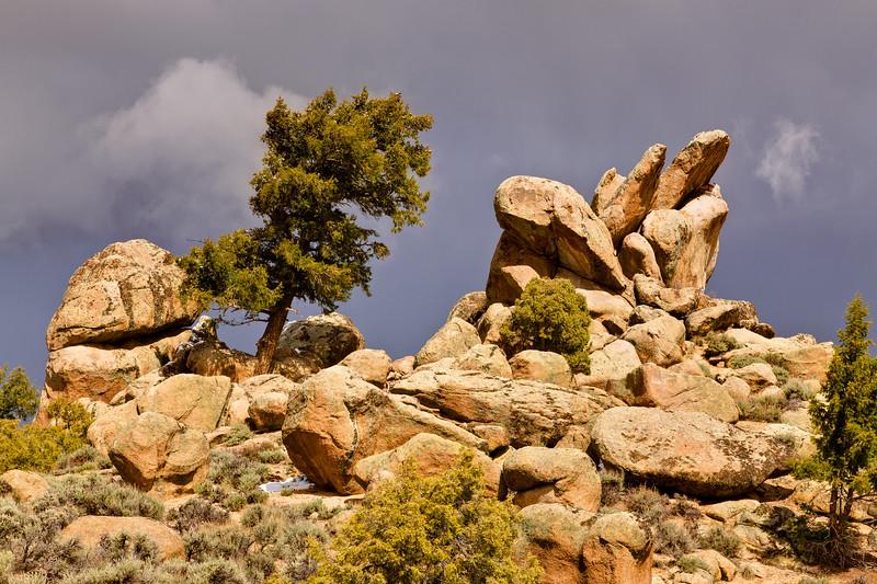 """""""Hartman Rocks Storm"""" Gunnison, Colorado"""