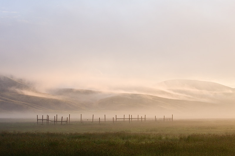 """Mountains In The Mist"" Gunnison, Colorado"