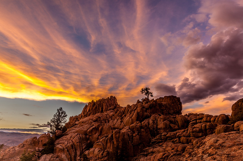 """Hartman Rocks Sunset"" Gunnison, Colorado"
