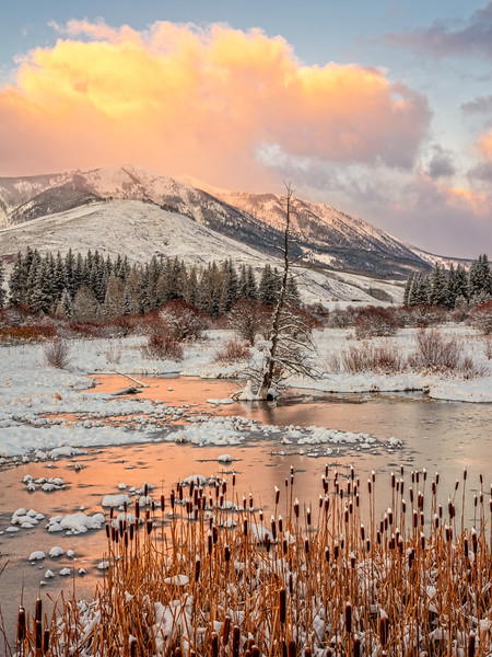 """Icy morning"", Crested Butte, Colorado"