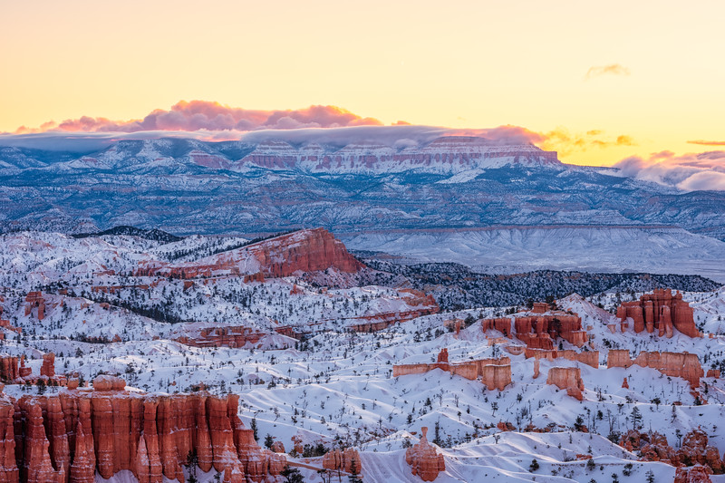 """Bryce Under a Blanket of Snow"""