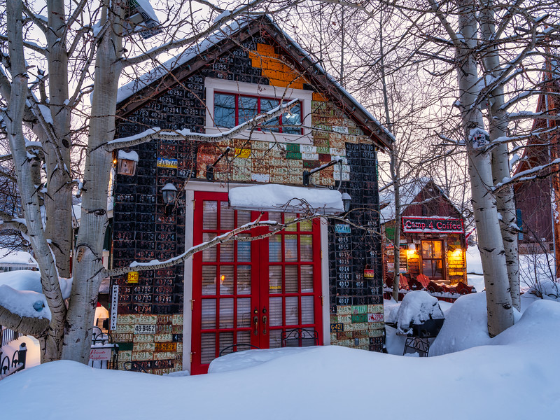 """Camp 4 Coffee"", Crested Butte, Colorado"